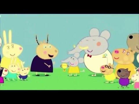 xem phim hoạt hình vui nhộn - PEPPA PIG - CHÚ HEO CON - Tập 01 -