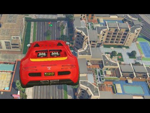 AMAZING SKY ROADKILL! (GTA 5 Online)