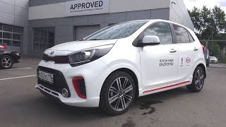 Best Subcompact Car Ever 2017 Kia Picanto 1.2 AT GT Line. Start Up, Engine, and In Depth Tour.. MegaRetr