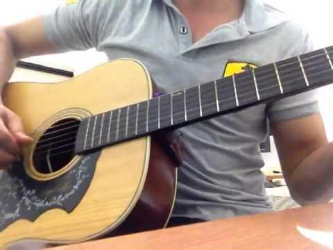 Nếu là anh _ Guitar cover của Trung Rudo