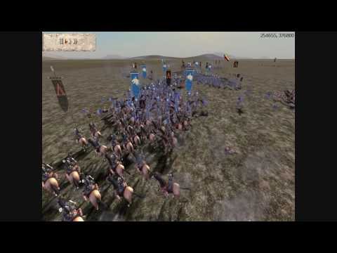 Medieval II Total War Online Battle #67: 4 Player Free-For