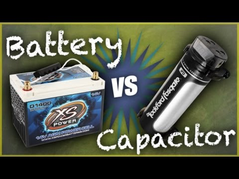 Car Audio Capacitors vs. Power Cells