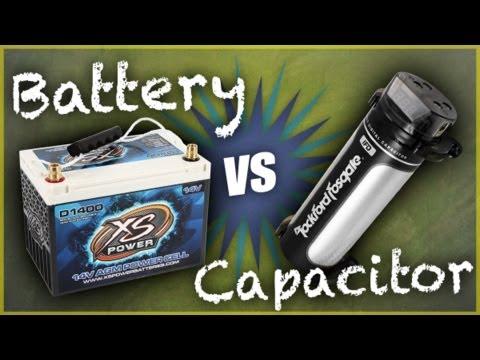 Car Audio Capacitors vs. Power Cells