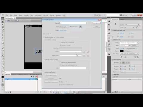 12 AS3 Game Design - Creating an End Game Screen
