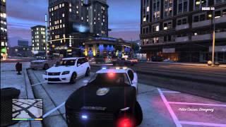 Grand Theft Auto 5 Super Rare POLICE BUFFALO K9 Found On