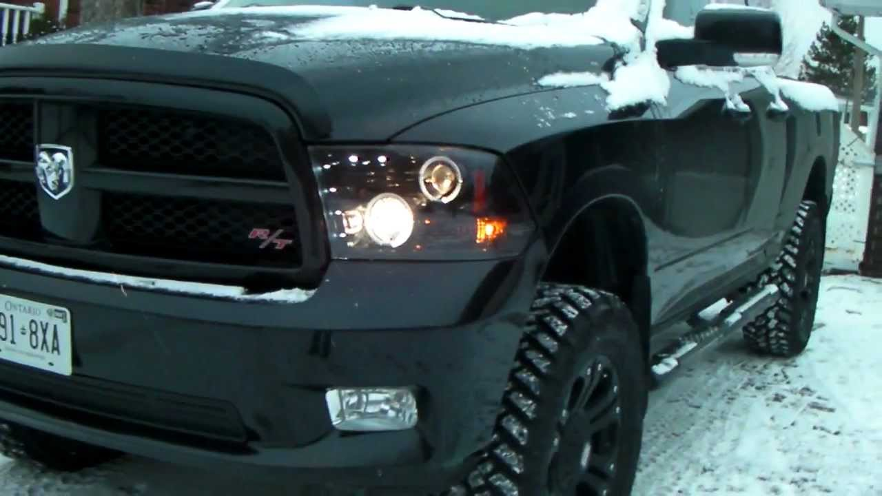 Recon headlights dodge ram