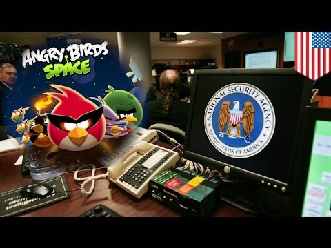 Snowden: NSA spying through Angry Birds and other apps