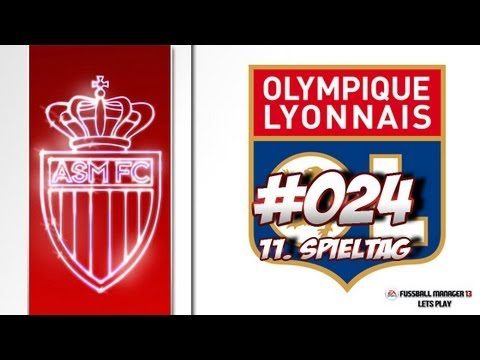 AS MONACO - Fussball Manager 13 Lets Play #024 - 11. Spieltag Olympique Lyon + FM Crash | ᴴᴰ
