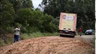 Dono de empresa de ônibus mostra problemas nas estradas