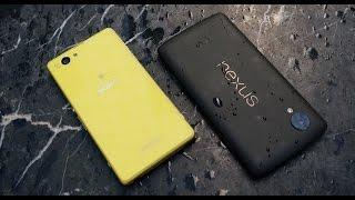 Xperia Z1 Compact Vs Nexus 5: обзор