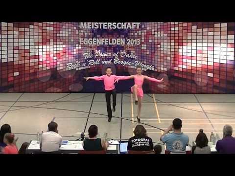 Antonia Schmid & Julian Minks - Deutsche Meisterschaft 2013