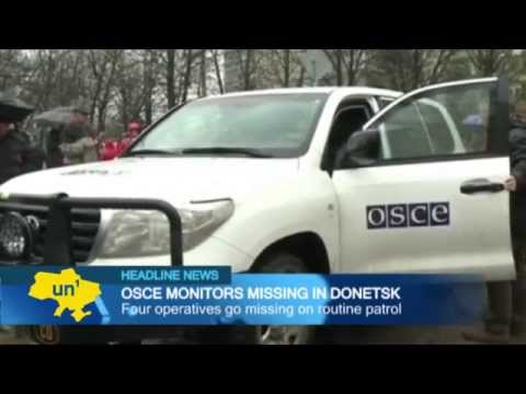 OSCE monitors feared abducted: Second team of international body goes missing in east Ukraine
