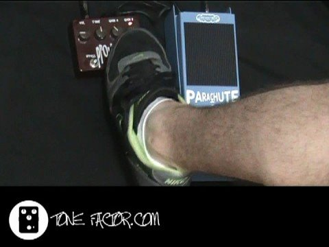 Chicago Iron Parachute Wah - Pre & Post Distortion