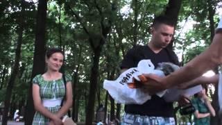 Proiecție de filme Hyde Park în parcul central din Chișinău