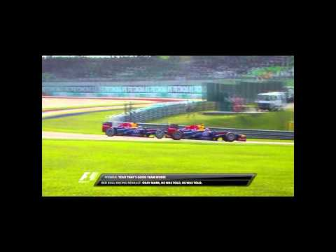 Red Bull Racing Team Radio in Malaysia, 2013: Multi 21