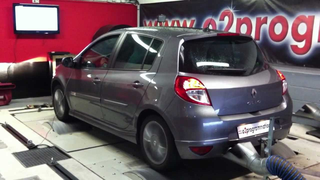 test dyno reprogrammation moteur renault clio 1 5 dci 105. Black Bedroom Furniture Sets. Home Design Ideas