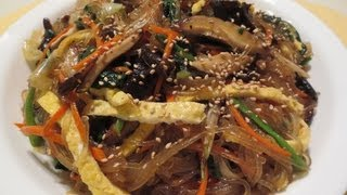 How To Make JAPCHAE 잡채! (Korean Noodles W/ Mixed