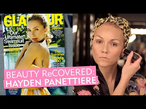 Hayden Panettiere's sun-kissed Glamour cover recreated by makeup artist Kandee Johnson