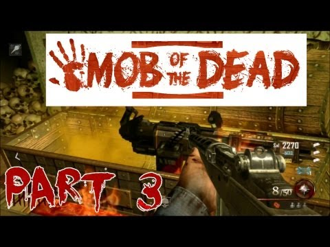 Black Ops 2 - Mob Of The Dead Zombies First Game LIVE COMM (w/ Steven Part 3)