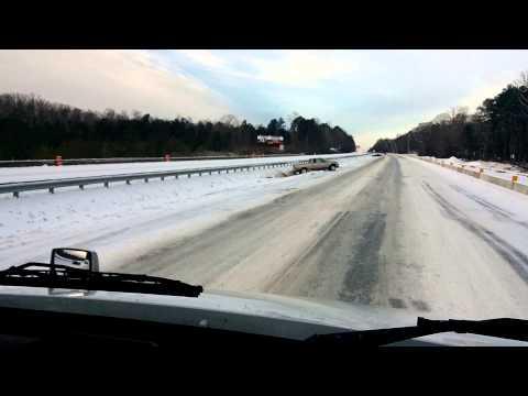 Snow Storm Atlanta 1/29/2014