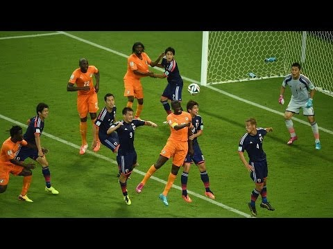 Ivory Coast 2 - 1 Japan World Cup 2014