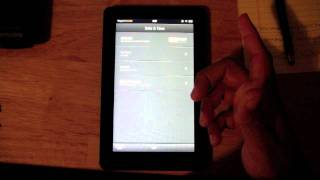 Kindle Fire: Set / Change Date & Time