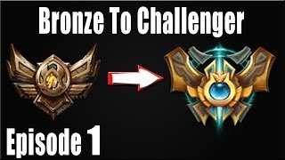 LOL: Bronze To Challenger Episode 1 Rengar Jungle