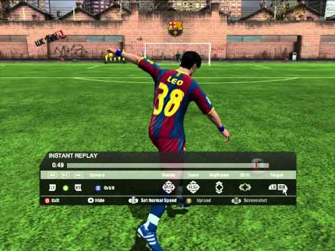 FIFA 2011 Best free kick goal in arena