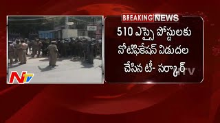 TRS releases notifications for 510 SI posts