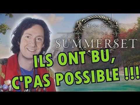 SECRETS D'HISTOIRE sur TESO : LES PSIJIQUES SONT AU PIF !!! (Summerset) avec Krayn & Desastre