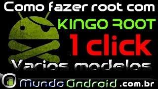 Como Fazer Root Em Vários Modelos Android, Kingo Root