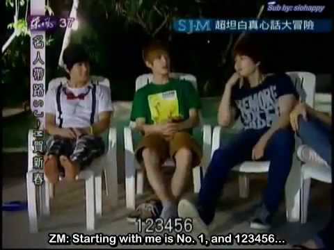[ENG] 120122 Celebrity Tour Guide - Truth Or Dare [4-1]