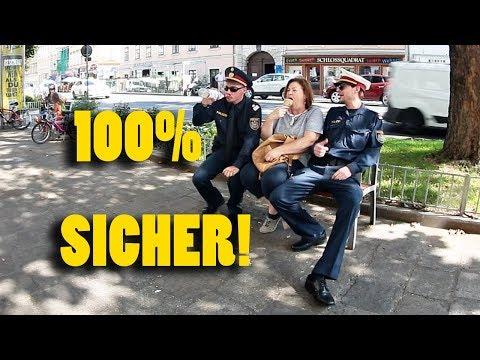Polizei Prank Alkohol und Straßenkriminalität