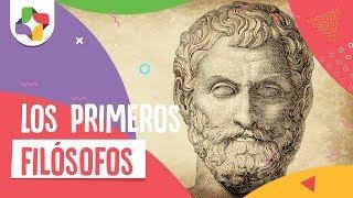 Filósofos griegos: Tales, Anaxímenes y Anaximandro