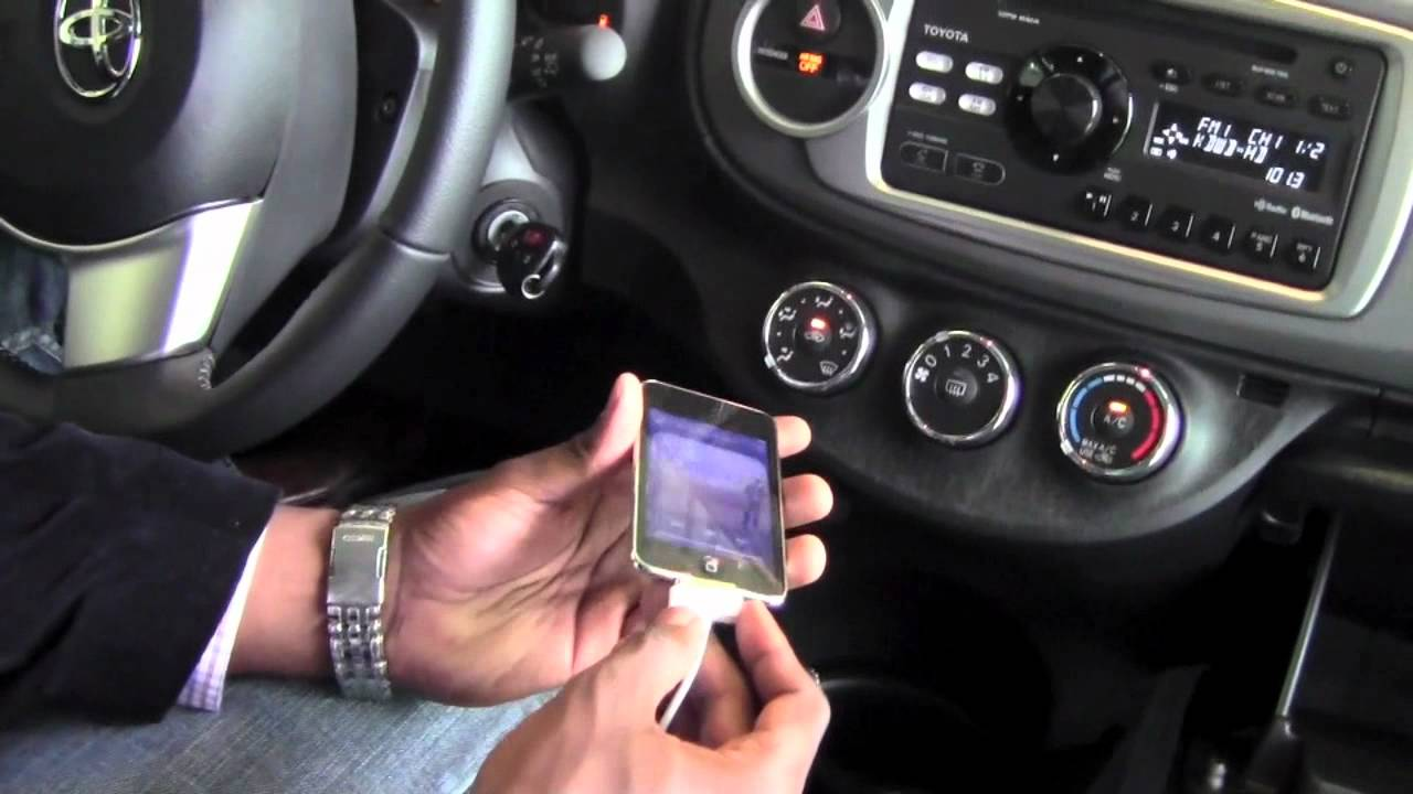 2012 | Toyota | Yaris | Aux and Usb Ports | How to by ...