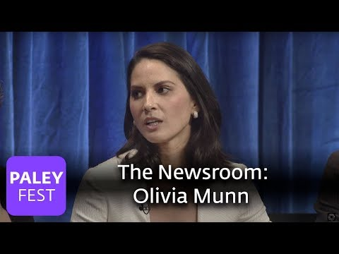 The Newsroom - Olivia Munn Debates Piers Morgan About Celebrity and Journalism