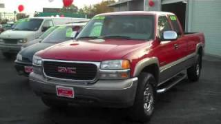 2000 GMC Sierra 2500 SLE Pickup HD Extended Cab Long Bed videos