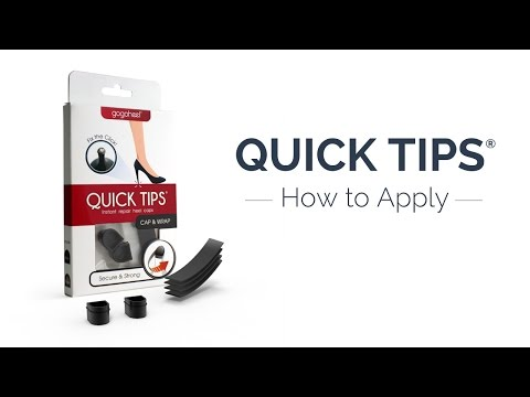QUICK TIPS® Heel Caps