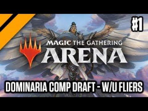 Dominaria Competitive Draft - W/U Fliers P1 (sponsored)