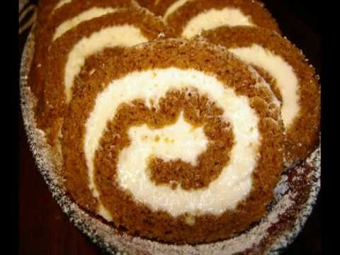 60 Second Recipe: Pumpkin Roll