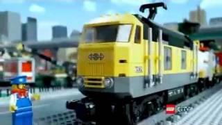 Klocki Lego City 7939 Pociąg Towarowy Maxzabawkipl Youtube