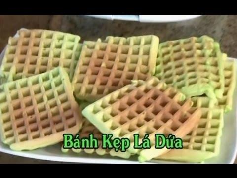 Bánh Kẹp Lá Dứa - Xuân Hồng