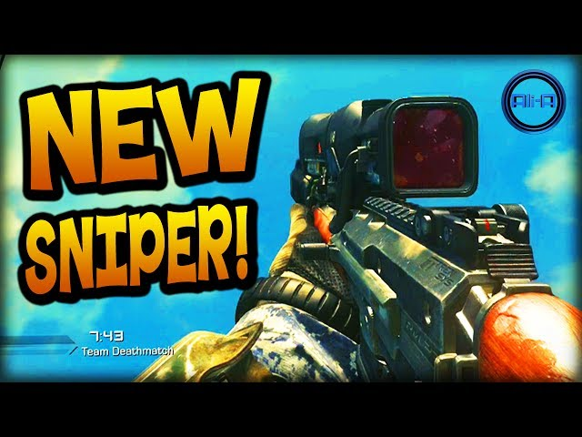 "NEW ""MAVERICK"" SNIPER! - Call of Duty: Ghost Gameplay! - (COD Ghosts Onslaught DLC)"