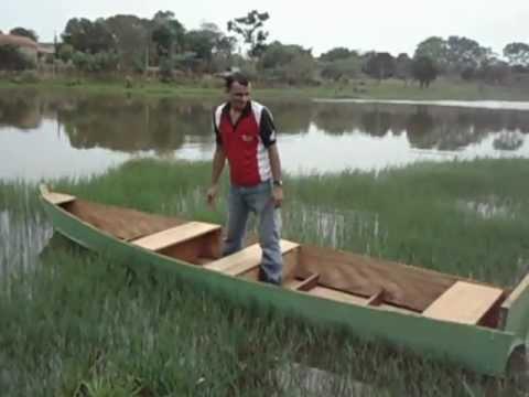 como fazer barco de madeira timburi ou timboril feito em casa ll