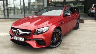 2018 Mercedes AMG E63 S 4MATIC+ Full Review BRUTAL Start Up Drive Interior Exterior