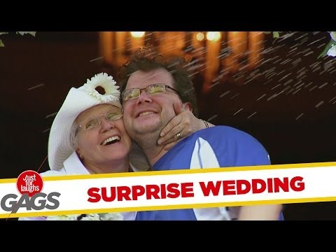 Surprise Wedding Prank