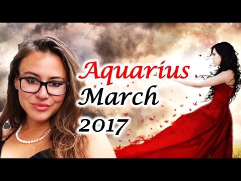 AQUARIUS March 2017 Horoscope. VENUS RETRO Prepares you for a NEW JOURNEY!