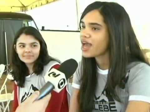 Calebes no Jornal Hoje - 27/07/2011