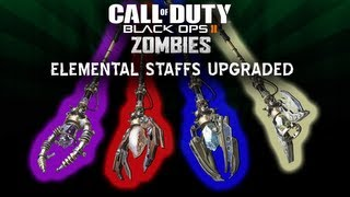Black Ops 2 Origins Zombies How To Upgrade All 4 Elemental