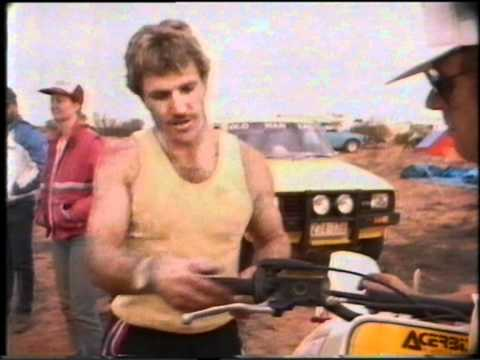 Finke Desert Race 1986, Big bore two strokes